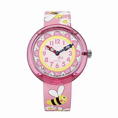 FlikFlak 兒童錶 DAISY BEE 雛菊蜜蜂手錶