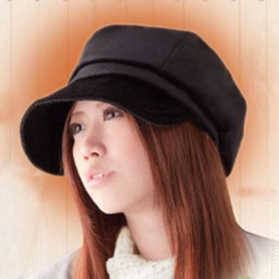 【SUN FAMILY】吸濕發熱保暖小顏防寒帽(黑色)