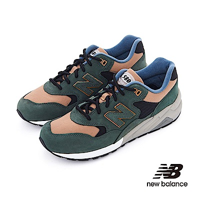 New Balance 580復古鞋MRT580KC中性橄欖綠