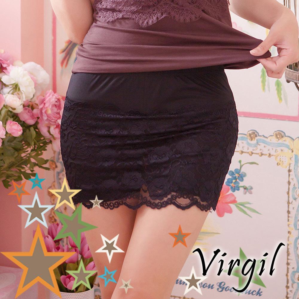 內搭 蕾絲褲裙安全褲 Virgil