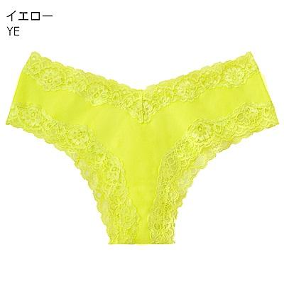 aimerfeel 淑女清爽肌棉質半臀內褲-黃色