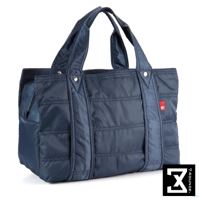 74盎司 多夾層收納尼龍肩背包(大款)[TG-094]藍