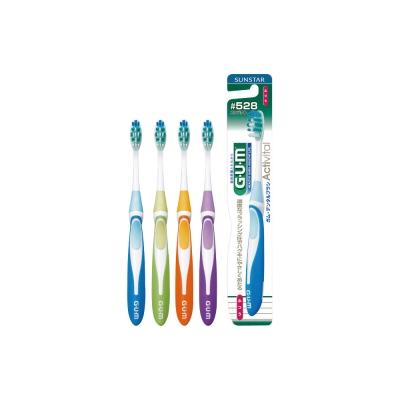 GUM牙周護理多功能牙刷 (小頭 中毛) #528