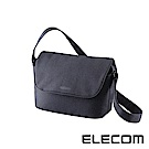 ELECOM normas休閒多功能相機側背包-黑