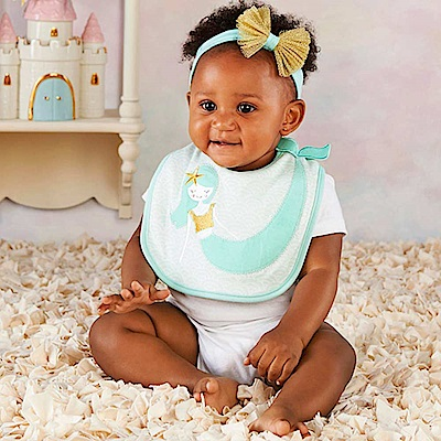 Baby Aspen BAS 變裝派對水綠美人魚套裝彌月禮組