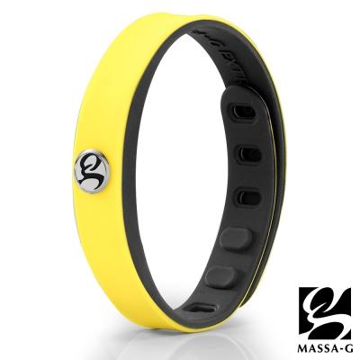 MASSA-G SP1炫色鍺鈦能量手環-黃