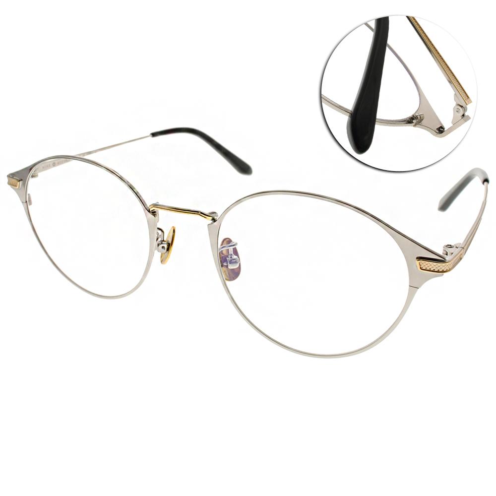 NINE ACCORD眼鏡 簡約休閒款/銀-金#PLACO ELSE1 C03