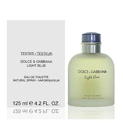 D&G Light Blue 淺藍男性淡香水 125ml Tester 包裝