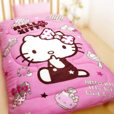 HELLO KITTY時尚寶盒毯被粉