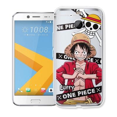 航海王 HTC 10 evo 5.5吋 透明軟式手機殼(封鎖魯夫)