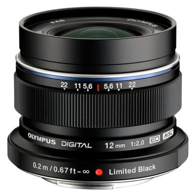 OLYMPUS EW-M1220 / M.ZUIKO 12mm F2.0鏡頭(平行輸入)-黑色