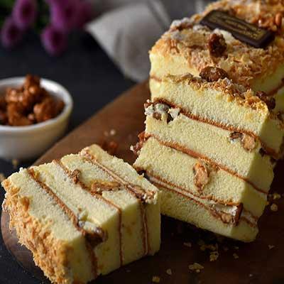 聖保羅烘焙廚房 香草核桃蛋糕條x5盒(1入/盒)