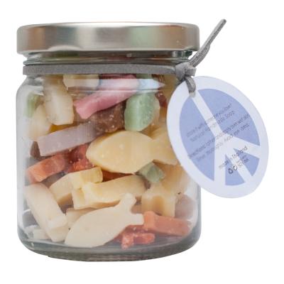 泰香 草本罐裝造型迷你皂-Peace (象徵和平的小魚)100g