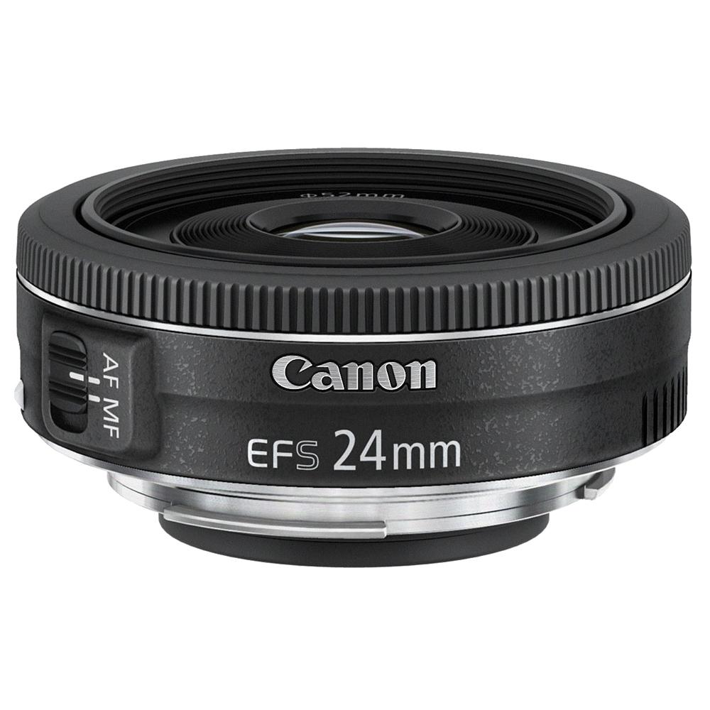 Canon EF-S 24mm F2.8 STM 廣角餅乾鏡(公司貨)
