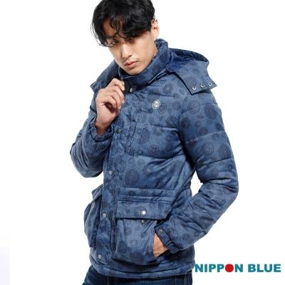 日本藍 BLUE WAY 日本藍五輪家徽絲棉外套