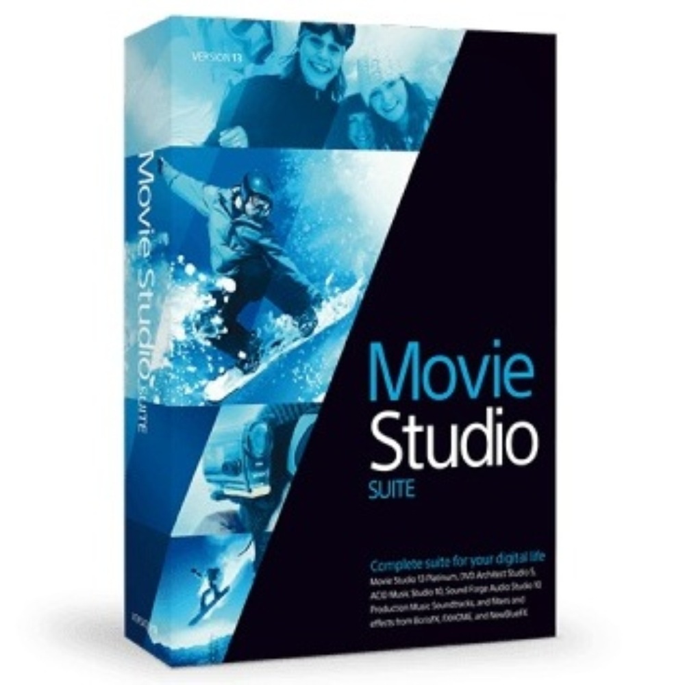 VEGAS Movie Studio 13 Suite (影音剪輯) 單機版 (下載)