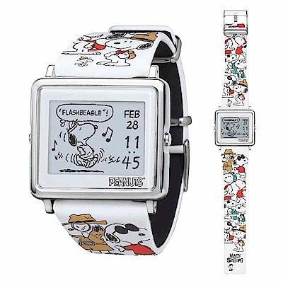 Smart Canvas 百變史努比  電子紙腕錶