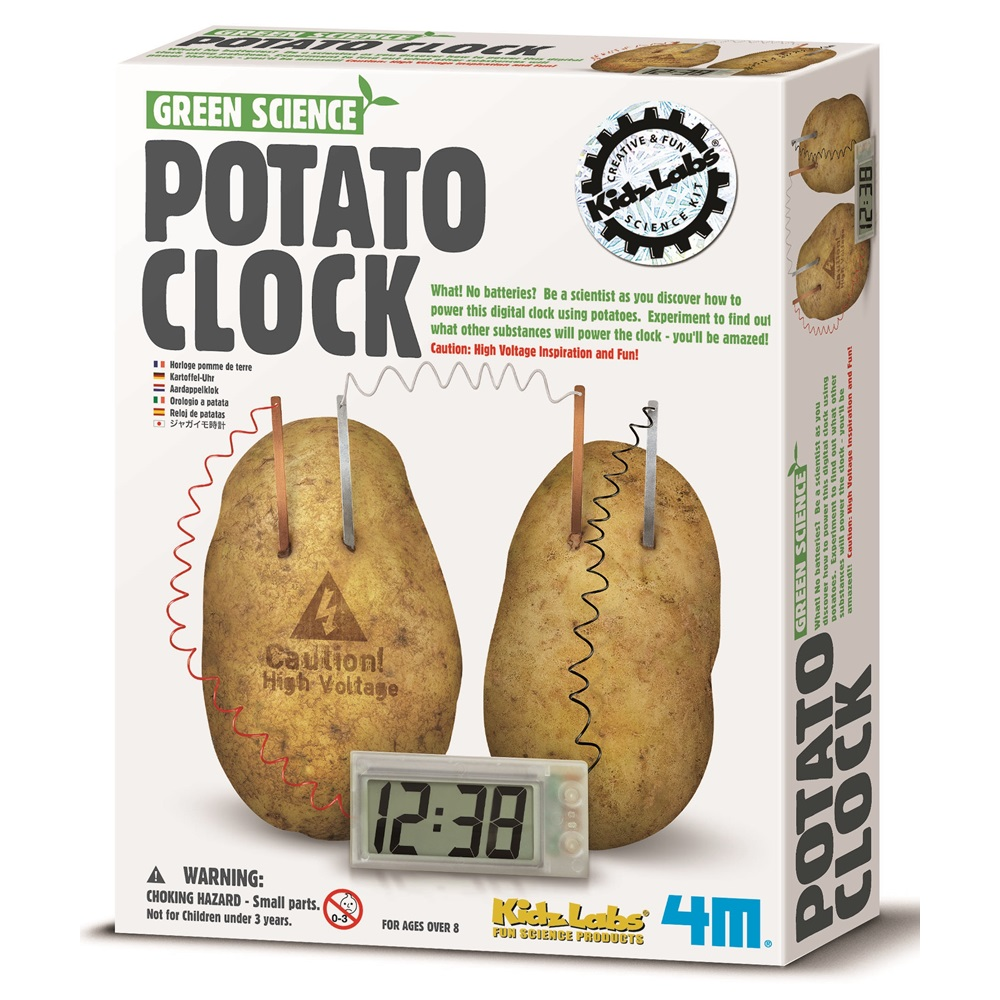 4M科學探索 馬鈴薯時鐘