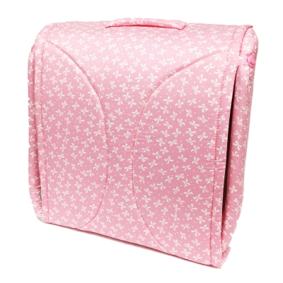 BabyCot蝴蝶結粉可攜式床中床/攜帶式嬰兒床