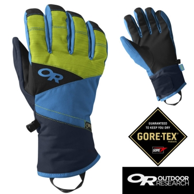 【Outdoor Research】男 Centurion 防水防風透氣保暖手套/藍綠