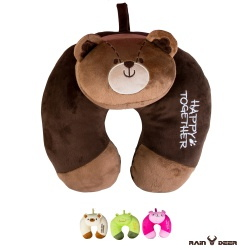 RAIN DEER 動物家族頸枕輕旅行系列(隨機出貨)