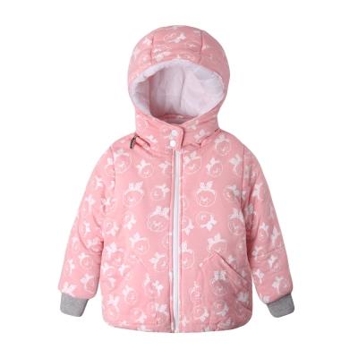 baby童衣-女童外套-保暖舖棉厚卡通花紋外套