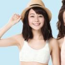 嬪婷 學生內衣 第二階段 AA70-85 罩杯背心(北極熊白)