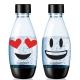 Sodastream水滴型專用水瓶 500ML 2入(Emoji) product thumbnail 2