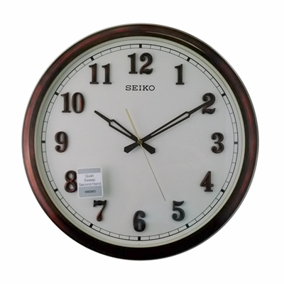 SEIKO 精工 傲世大型外框 沉穩靜音裝置 時鐘 掛鐘-40.7cm