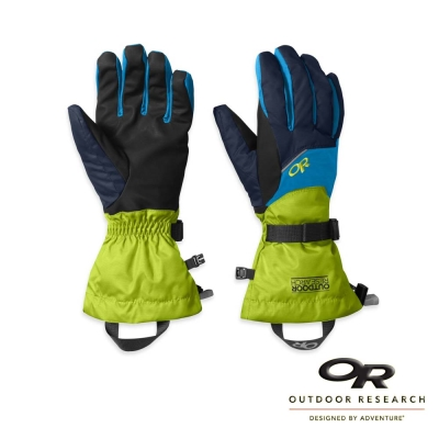 【Outdoor Research】男 ADRENALINE 防風保暖手套_深藍/綠