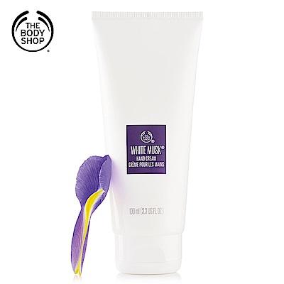 The Body Shop 白麝香絲柔護手霜-100ML