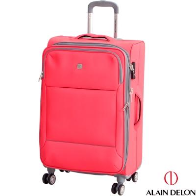 ALAIN DELON 亞蘭德倫 24吋 商務系列旅行箱(粉紅)