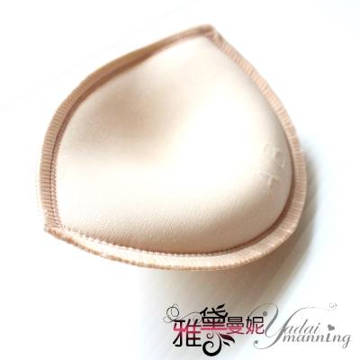 隱形胸罩 海綿胸墊  爆乳的小心機(半月型) 一組兩入 雅黛曼妮