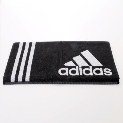 ADIDAS-運動毛巾AB8005-黑白