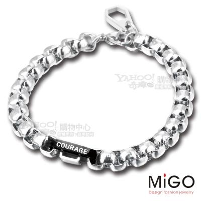MiGO-勇氣男手鍊