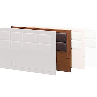 H&D 方格樟木色6尺床頭片 (寬182X深4X高91cm)