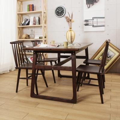 Jiachu 佳櫥世界-Fran芙嵐一桌四椅/二色-寬150x深80x高76公分