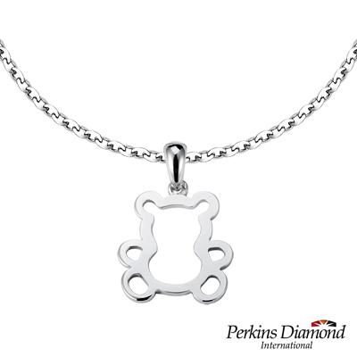 PERKINS 伯金仕 - 品牌熊系列 925純銀項鍊
