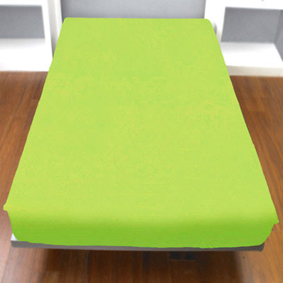 Yvonne Collection雙人純棉床包-淺草綠