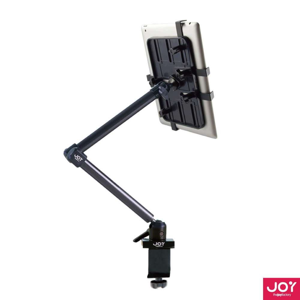 JOY Unite 平板通用型大型夾具式碳纖維L型桌架 MNU104