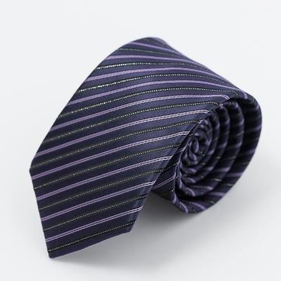 per-pcs 時尚紳士雅痞領帶_紫色斜紋(619-0090-6)