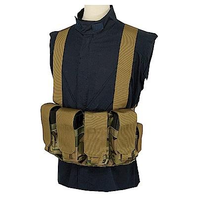 J-TECH 戰術胸掛裝束(迷彩綠MC)