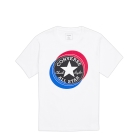 CONVERSE-男休閒短T恤10003901A01-白