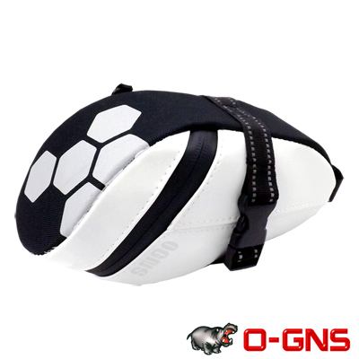 O-GNS 高密度黏扣式座墊袋 黑