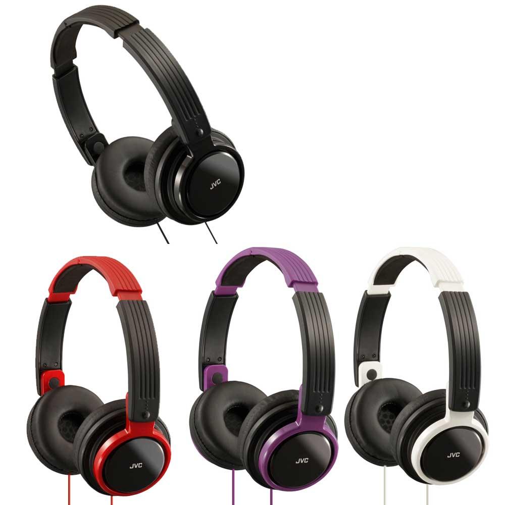 JVC HA-S200 高音質頭戴折疊式耳機