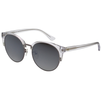 Calvin Klein- 復古 水銀灰 太陽眼鏡(透明色)CK4338SK