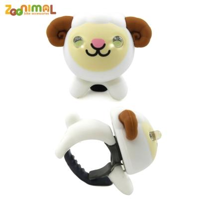 【ZOONIMAL】STORY 動物自行車燈用LED白光前燈-Hebe喜碧羊/綿羊