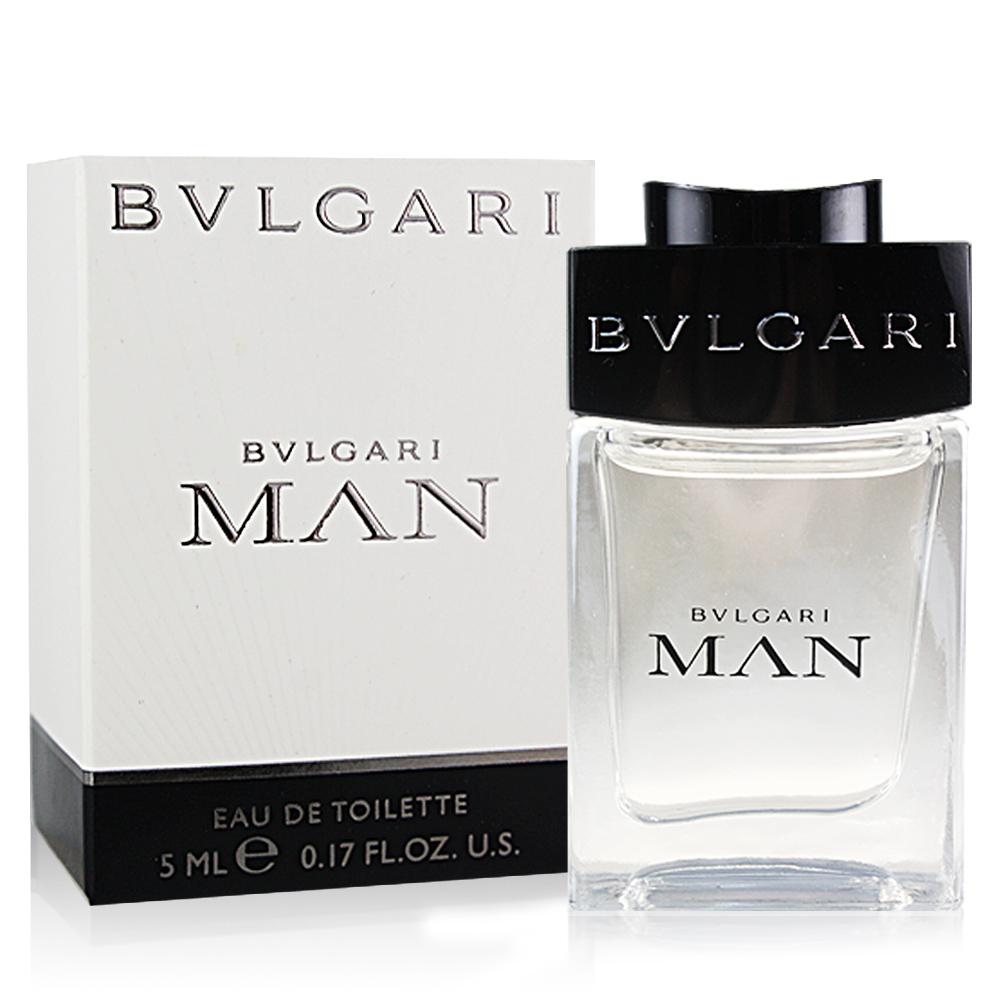 BVLGARI 寶格麗 MAN當代男性淡香水(5ml)