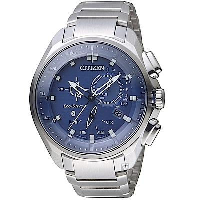 星辰CITIZEN GET S系列光動能時尚藍芽限量男錶(BZ1029-87L)