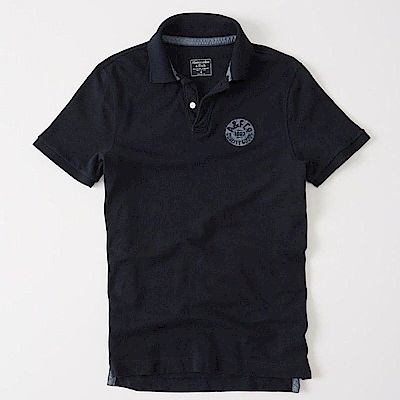 AF a&f Abercrombie & Fitch POLO 藍色 0577